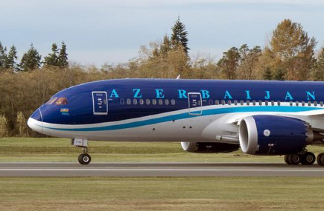 Азербайджанская авиакомпания AZAL первой в СНГ получила Boeing 787