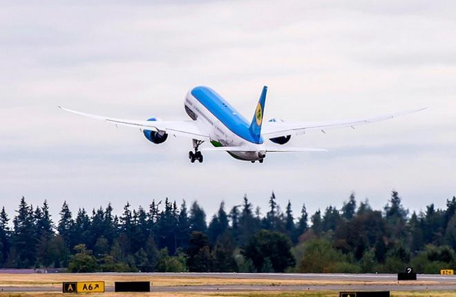 Uzbekistan Airways договорилась о покупке трех Boeing 787-9