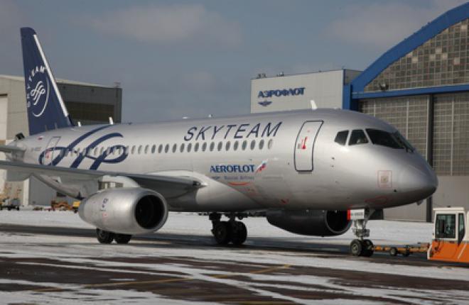 """""""Аэрофлот"""" ввел в эксплуатацию шестой SSJ 100 :: Аэрофлот"""