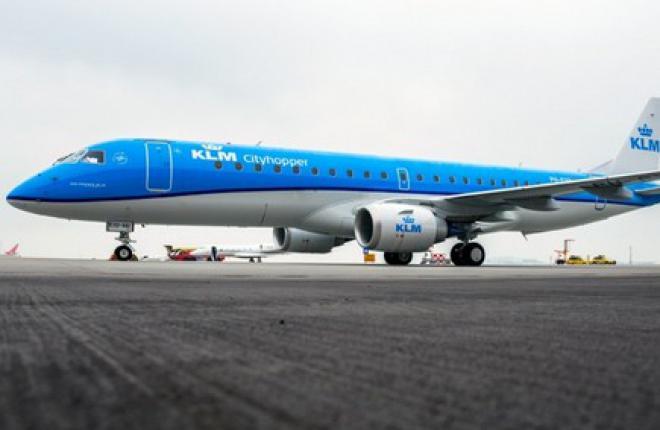 KLM заказала для дочерней компании 17 самолетов семейства E-Jet