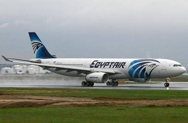 Airbus A330 авиакомпании EgyptAir