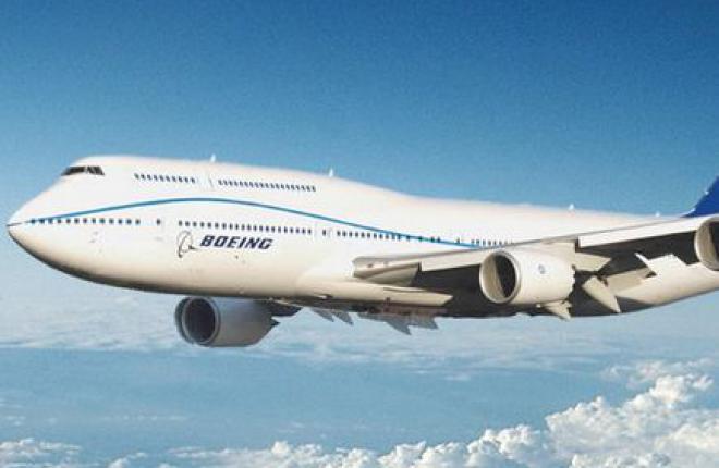 Самолету Boeing 747-8I разрешили лететь с неисправными двигателями 330 мин