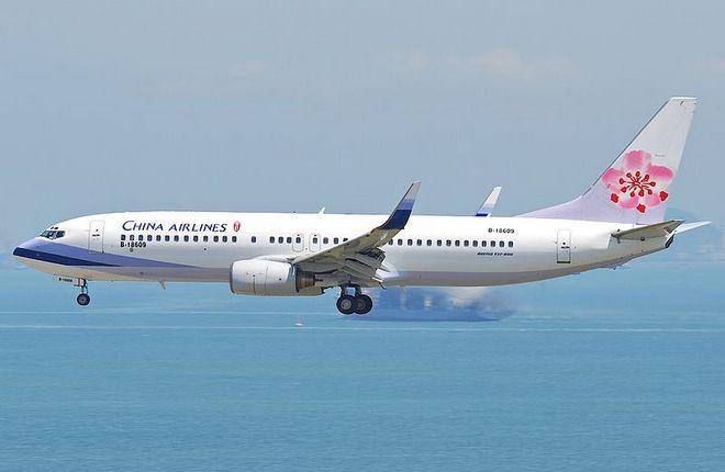 Boeing 737-800 авиакомпании China Airlines