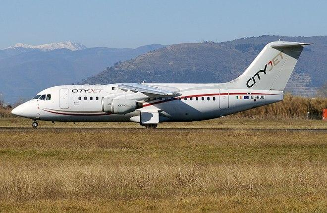 AVRO RJ85 CityJet