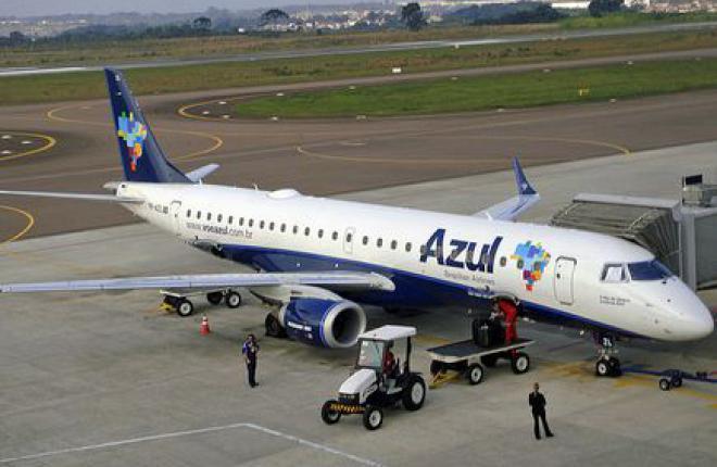 Владелец китайской авиакомпании Hainan Airlines приобретет 23,7% бразильской Azul