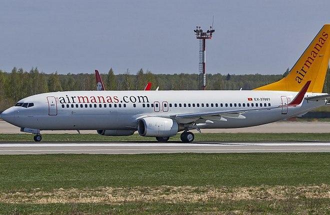 Boeing 737-800 Air Manas