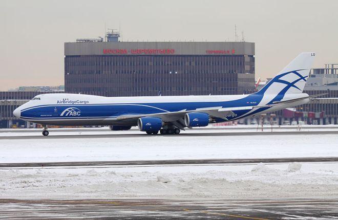 Boeing 747-8 авиакомпании AirBridge Cargo