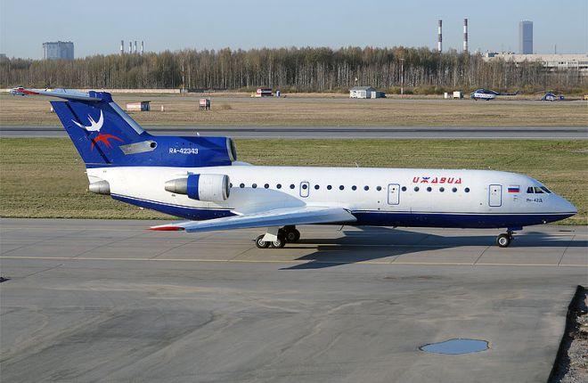 """Як-42 авиакомпании """"Ижавиа"""""""