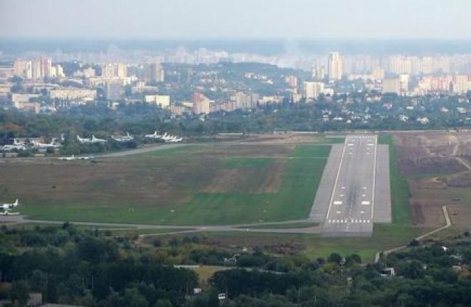 Киевские аэропорты отчитались о снижении пассажиропотока за год