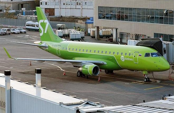 "Embraer E170 авиакомпании S7 Airlines (""Сибирь"")"