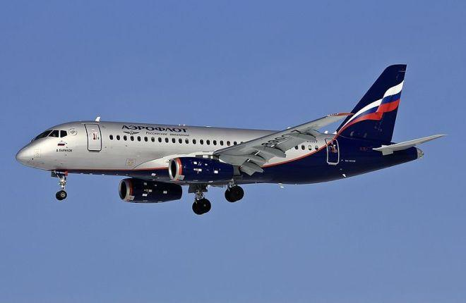 "SSJ 100 ""Аэрофлота"""