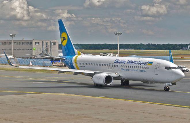 """Boeing 737-800 авиакомпании """"Международные авиалинии Украины"""""""
