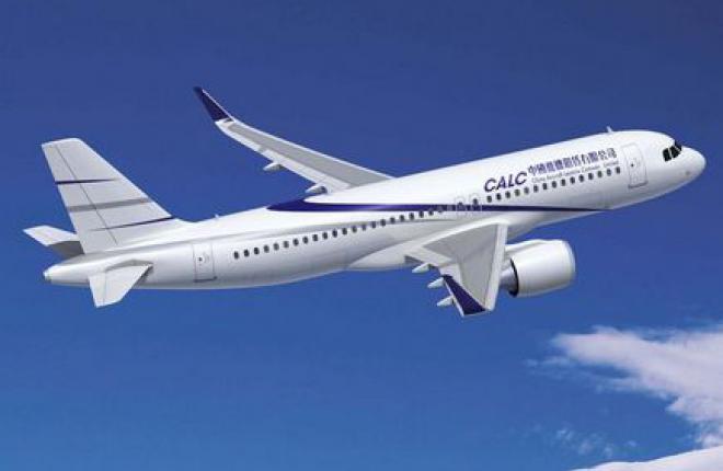 Китайский лизингодатель CALC заказал 100 самолетов семейства Airbus A320