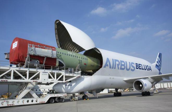 Airbus анонсировал новое поколение грузовых самолетов Beluga