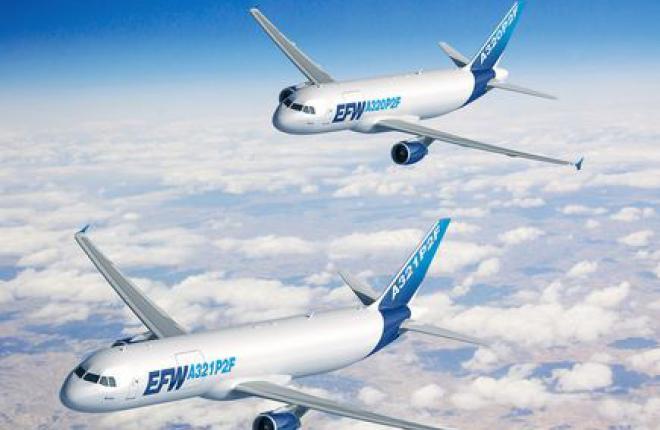 Airbus возобновил программу по переоборудованию пассажирских самолетов A320 в грузовые