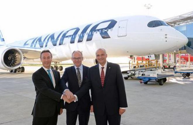 Finnair первой в Европе получила самолет A350