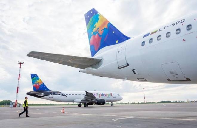 Флот Small Planet Airlines