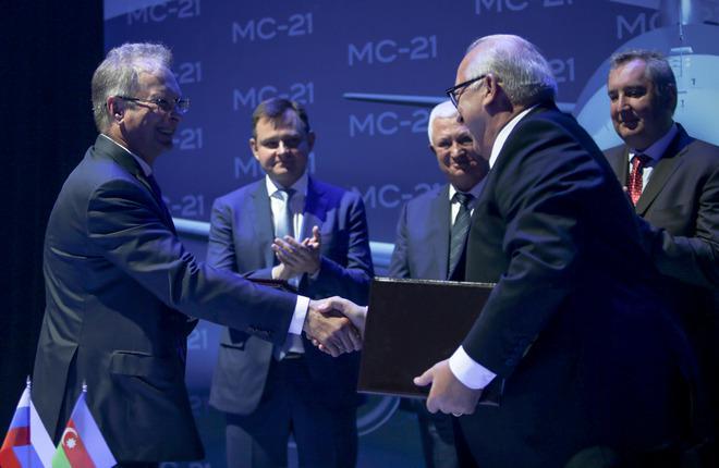 Авиакомпания AZAL подписала меморандум о покупке МС-21
