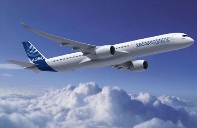 Для прототипа Airbus A350-1000 изготовили первые детали