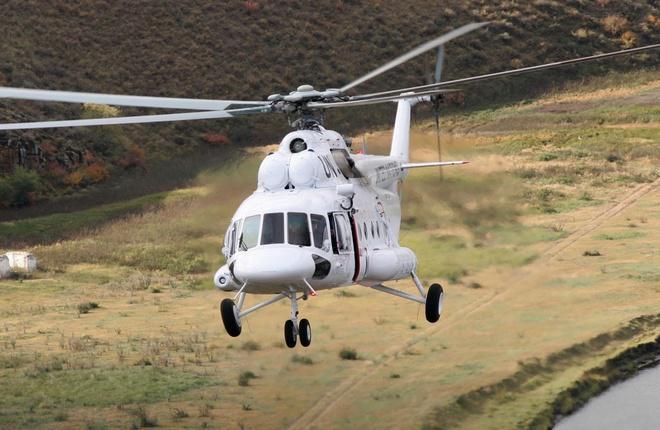 """Для """"Роснефти"""" построили четыре вертолета Ми-8/171"""