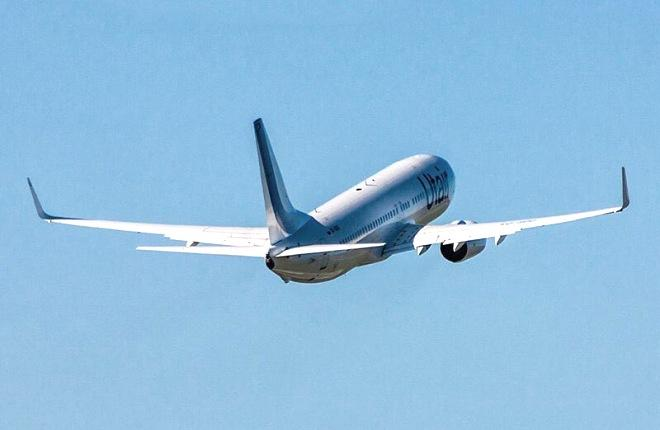 """Boeing 737-800 авиакомпании """"ЮТэйр"""""""