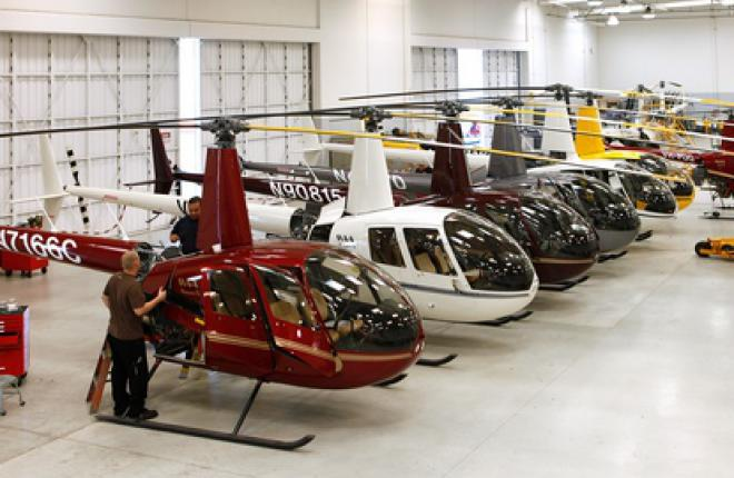В 2011 г. Robinson Helicopter выпустила 356 вертолетов :: Robinson Helicopter