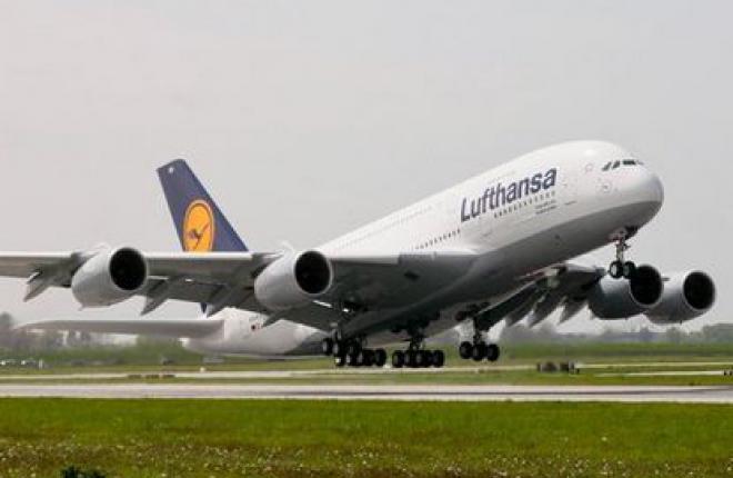 Немецкая авиакомпания Lufthansa отказывается от трех Airbus A380