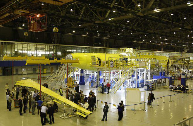 В Иркутск доставили вторую консоль крыла для МС-21