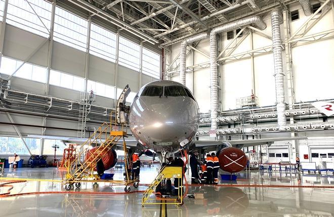 «А-Техникс» (входит в группу «Аэрофлот») впервые выполнит тяжелую форму C-check на региональных реактивных самолетах Superjet 100