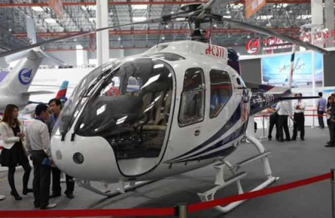 Состоялся первый полет китайского легкого вертолета AC311A
