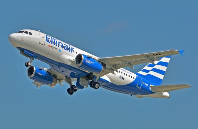 Ellinair планирует пополнять флот за счет самолетов семейства Airbus A320