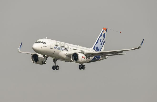 Первый полет самолета A319neo