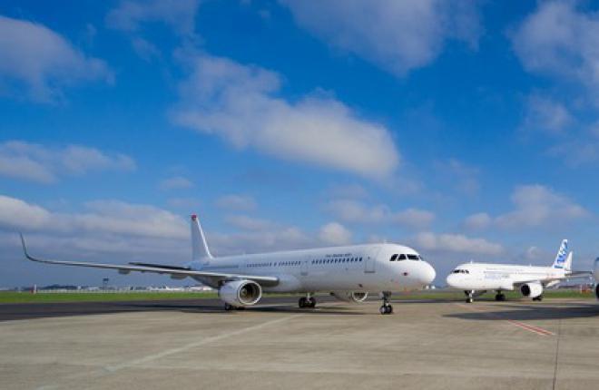 Airbus сертифицировал в EASA законцовки крыла sharklets для семейства A320