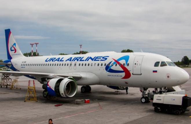 """Авиакомпания """"Уральские авиалинии"""" получила юбилейный самолет A320"""