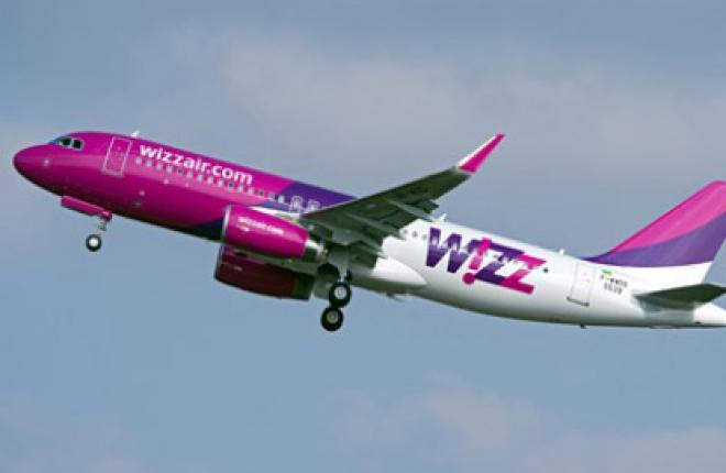 Wizz Air Ukraine получила первый самолет Airbus A320 c законцовками sharklet