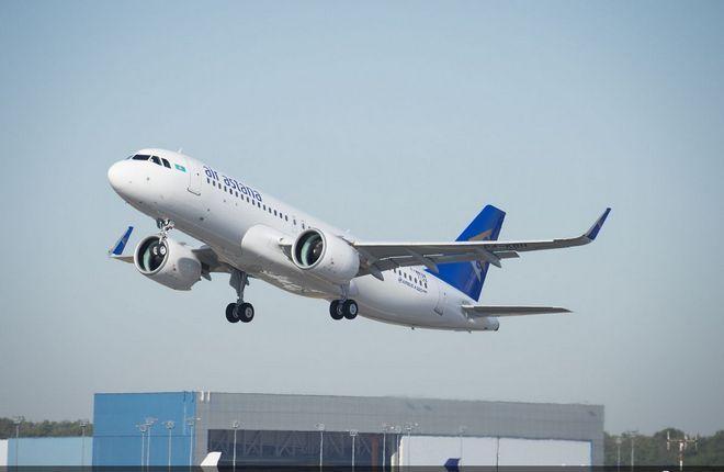 A320neo Air Astana