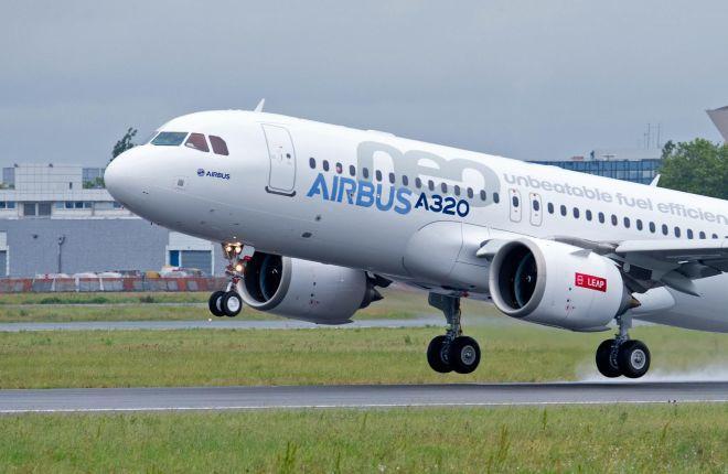 A320neo с двигателями LEAP-1A