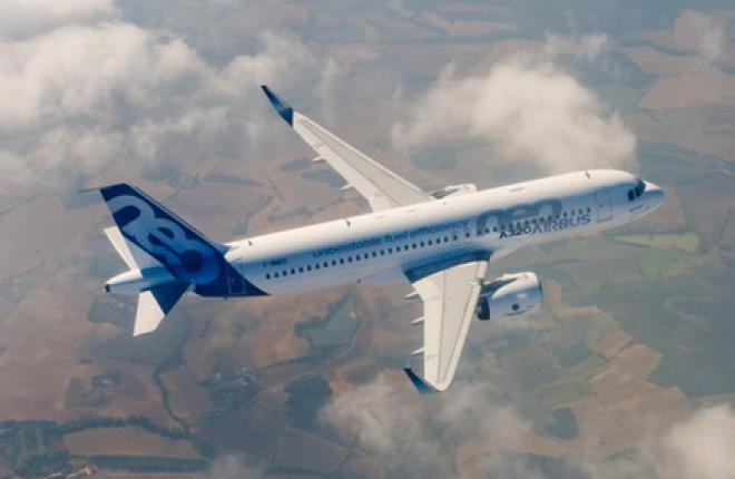 Самолет А320neo получил сертификат типа в Европе и США
