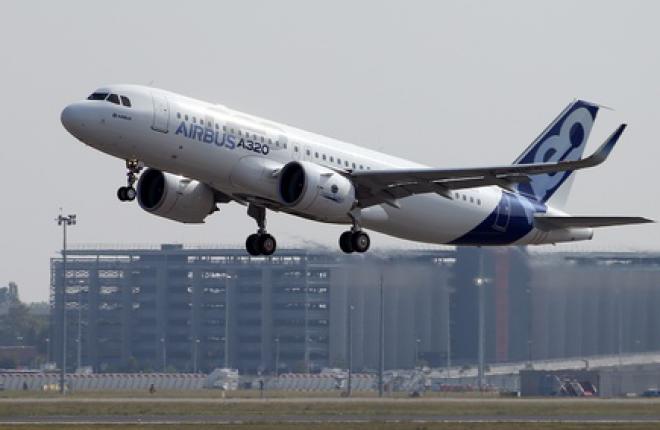 Ремоторизованный A320 впервые поднялся в воздух