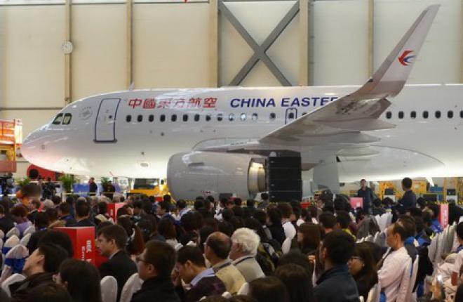 На китайском заводе Airbus собрали двухсотый самолет A320