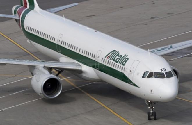 Авиакомпания Etihad готова купить Alitalia