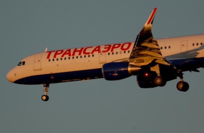 """Парк """"Трансаэро"""" пополнился вторым самолетом A321"""
