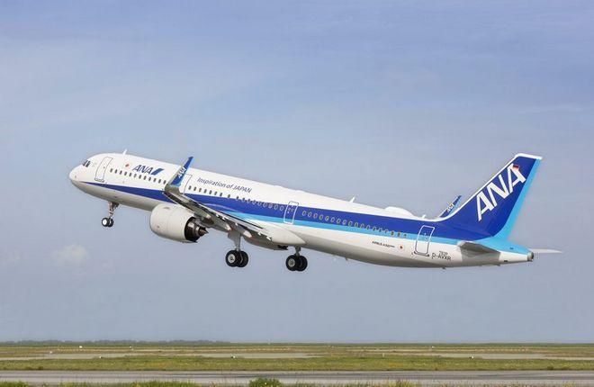 All Nippon Airways стала первым эксплуатантом А321neo с двигателями PW1100G