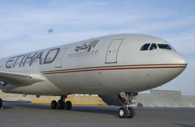 Авиакомпания Etihad Airways внедряет новую технологию захода на посадку