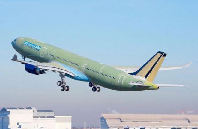 EASA сертифицировала А330-300 с увеличенной взлетной массой