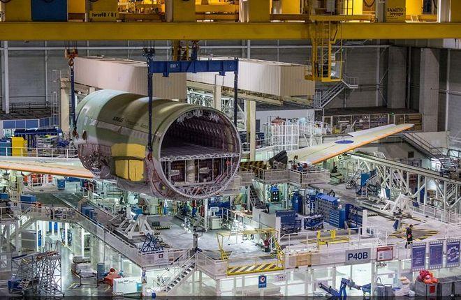 Сборочный цех Airbus