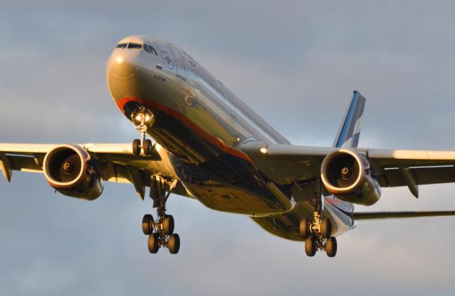 "Самолет A330-300 авиакомпании ""Аэрофлот"""