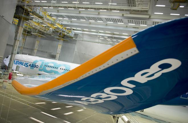 Первый полет модернизированного самолета Airbus A330neo ожидается в конце лета