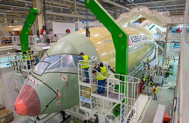 Airbus сэкономит за счет подразделения коммерческих самолетов