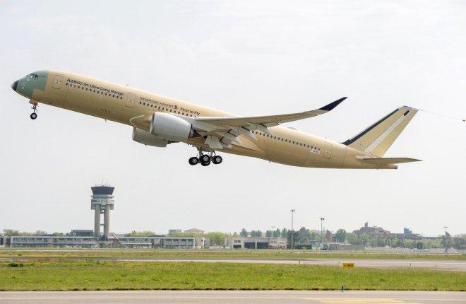 Самолет A350ULR